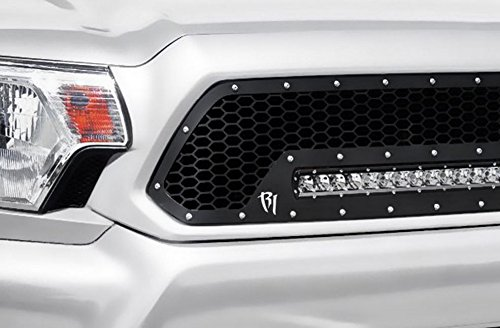 R&L Racing JDM T-R BLK MESH Front Hood Bumper Grill Grille 2002-2005 Civic SI EP3 Hatchback