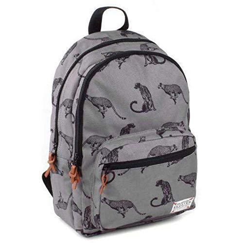 Skooter Backpack Animal Kingdom Grey Puma Mochila infantil, 38 cm, Gris (Grey)