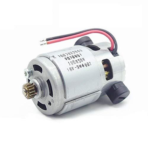 MQEIANG 18V 14.4V Motor Motor para Bosch GSR GSB 140-LI GSR140-LI GSB140-LI GSR 180-LI GSB 180-LI GSR180-LI GSB180-LI Taladro de Impacto (Color : 18V)