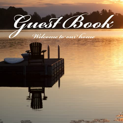 Real Estate Investing Books! - Guest Book: Welcome guest book for your rental property (Matte Edition)