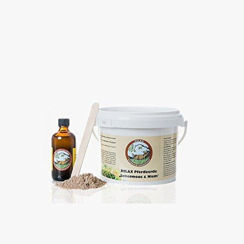 Relax Biocare Pferdeerde Lebermoos + Niem ergibt ca. 1,25kg Paste