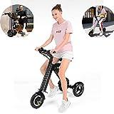 MRMRMNR E-Bike Für Erwachsene Männer Und Frauen 36V 250W Erwachsener Elektroroller Faltbares Älteres Elektrisches Dreirad, 30-45KM Akkulaufzeit, 150KG Lager, 4 Stunden Aufladen