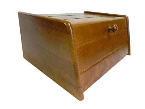 Panera de madera con puerta enrollable...