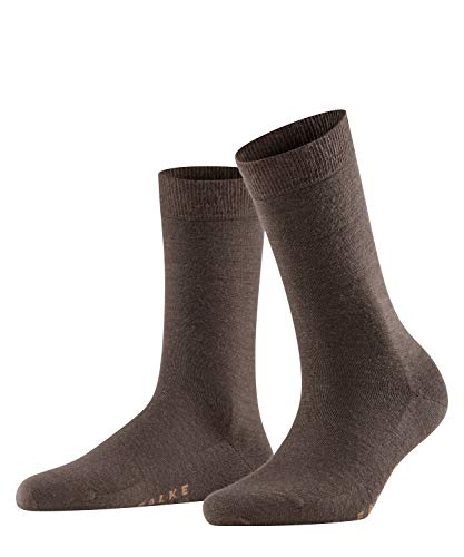 Falke Damen Socken Softmerino W SO-47488, Braun (Dark Brown 5239), 37-38