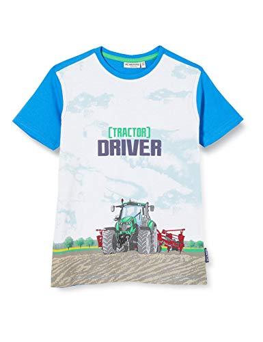 Salt & Pepper Jungen 03112165 T-Shirt, Blau (Regatta Blue 469), 128 (Herstellergröße: 128/134)