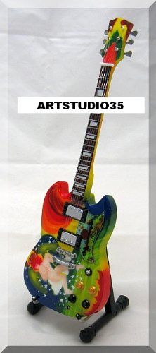 Eric Clapton miniatura Mini guitarra Fool Color Crema