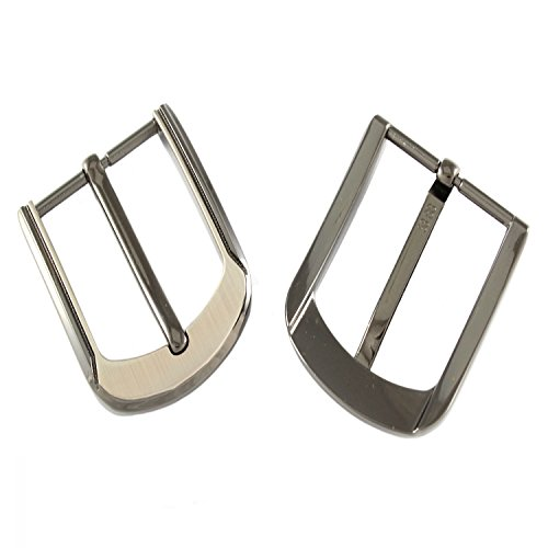 Hebilla para cinturón (40 mm, zinc fundido a presión/niquelado)