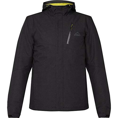 McKINLEY Gabin Winterjacke Outdoorjacke Herren Jacke, Größe:S, Farbe:900 Melange Black