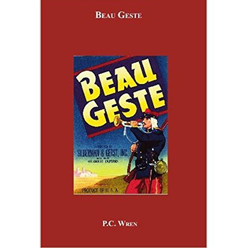 Beau Geste audiobook cover art