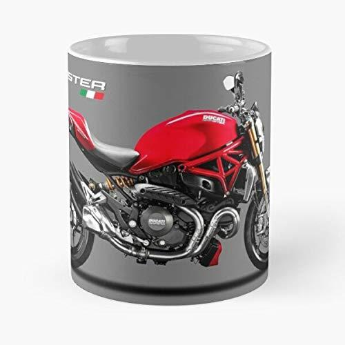 Monster 1200S Ducati Sport 1200 - Taza de café de cerámica para motocicleta