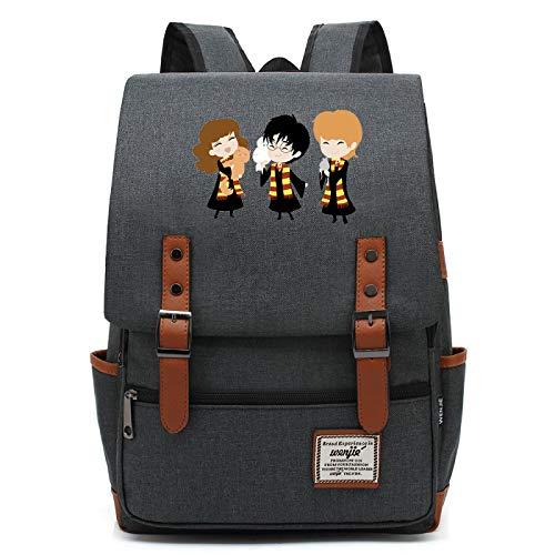 MMZ Mochilas Lindas para ninas Bolsas de Harry Potter Bolsas de Libros de Aprendizaje Informal para ninos Hogwarts M # 31