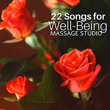 22 Songs for Well-Being Massage Studio