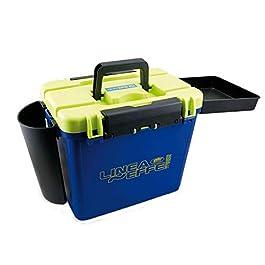 Lineaeffe LF Super Box 2 45 x 35 x 37 cm Siège Caisse à Pêche Boîtes Accessoires Seat Box