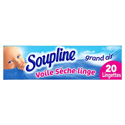 petit un compact Ligne de soupe – Séchoir assouplissant pour tissus Boil Grand Air – Lessive parfumée agréable – Beaucoup…