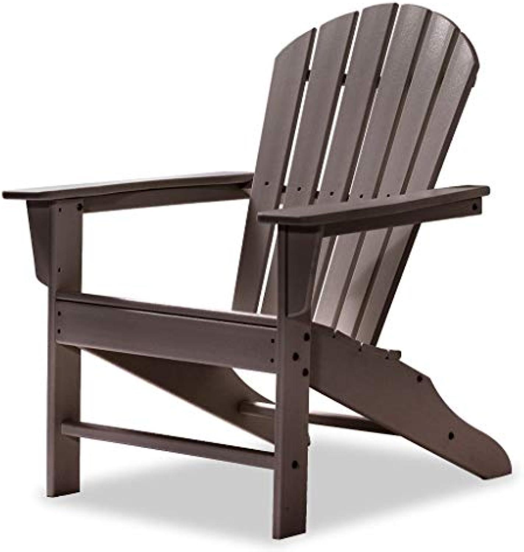 Original Dream-Chairs since 2007 Adirondack Chair All Seasons aus Kunststoff (Mahagoni)