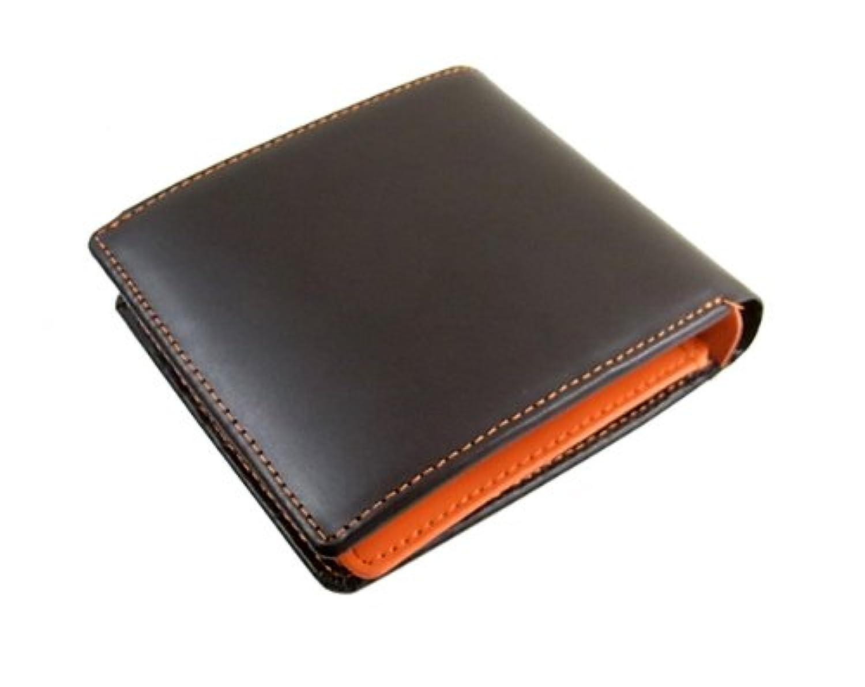 メンズ 二つ折り財布 マトゥーリ Maturi コードバン 短財布 MR-009-BROG