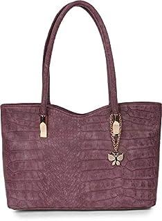 Butterflies Women Handbag (Wine) (BNS 0737WN)