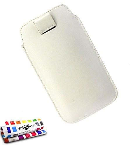 MUZZANO Funda Google/LG Nexus 5X [Le Sweep] [Blanco] Estilete y PAÑO REGALADOS...