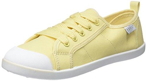 Coolway Damen Korea Sneakers, Gelb (YEL), 40 EU