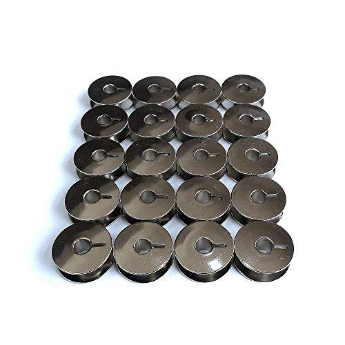 20 Metallspulen passend für Pfaff 130, 230, 260, 262, 332, 360, 362#9033S