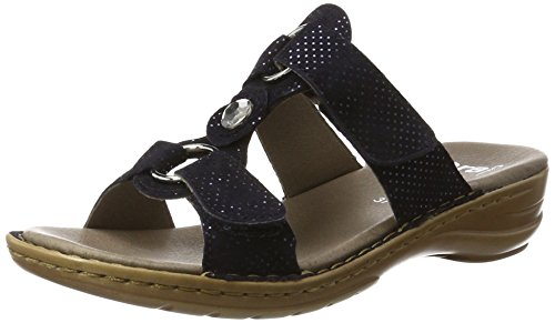 ara HAWAII Pantoletten Damen, Blau (Midnight), 42 EU
