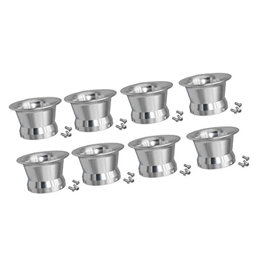 Gazechimp 4pcs 50mm Luftfilter Interface Cup Für 24/26/28 / 30mm Motorrad Carb Silber - Silber 3