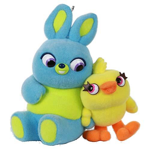 Hallmark Keepsake Christmas 2019 Year Dated Disney/Pixar Toy Story 4 Ducky and Bunny Ornament