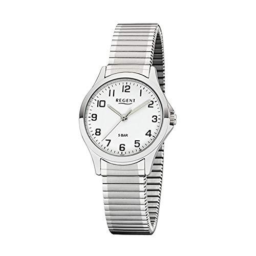 Regent Damen Analog Miyota 2035 Uhr mit Edelstahl Armband 12310162
