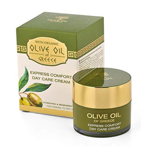 BioFresh Tagescreme mit biologischem Olivenöl, Normale bis trockene Haut - Express comfort day care cream for normal to dry skin Olive Oil of Greece 50 ml
