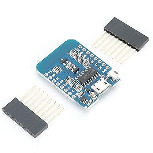 WeMos D1 NodeMcu Lua - Placa de desarrollo WiFi con pantalla OLED WiFi + Bluetooth CP2012, módulo ESP12F ESP8266