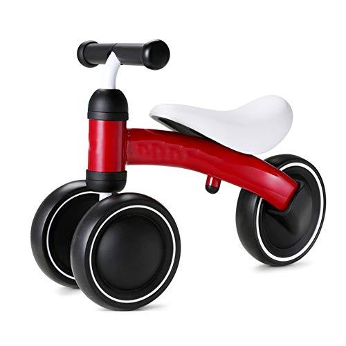 LVJUNQ Bicicletas de Equilibrio para bebés con Ruedas silenciosas Antideslizantes, Marco de Acero al Carbono, Capacidad de Carga máxima es de 44 Libras, Uso en el Parque