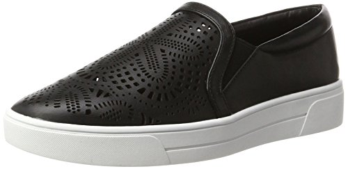 Buffalo Shoes Damen 516-4128 PU Slipper, Schwarz (Black 01), 39 EU