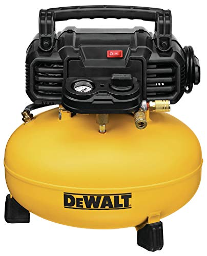 DEWALT Pancake Air Compressor, 6 Gallon, 165 PSI (DWFP55126) by . Compare B00K34UZBW related items.