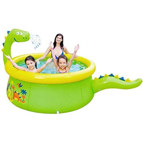 Qazxsw Jet de Agua para niños Piscina/espesante Inflable Piscina/Agua Jet Pool/Material de protección Ambiental