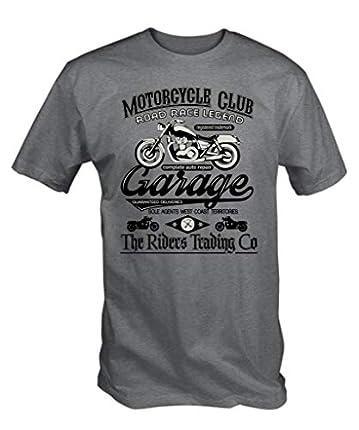 Camiseta del club de motociclismo, camisetas moteras baratas
