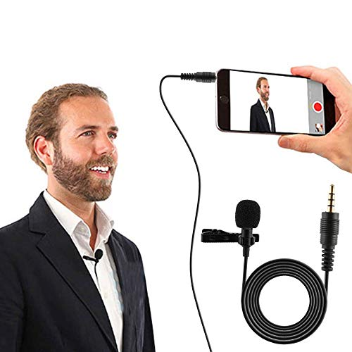 PremiumAV Microphone with Speaker/Recoding Feature for All iOS/Android & Windows Smartphone, Device Recording Condenser Handheld Stand with Speaker for Cellphone Karaoke