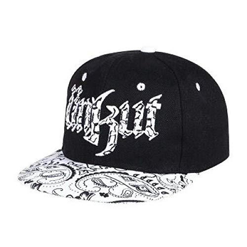 Gbksmm Sombrero De Niño Niño Gorra De Béisbol Hueso Niños Piel De Serpiente Stria Sombreros De Ala Plana Mujeres Hombres Hip-Hop Cap Swag-1 Color_Los 48-52Cm