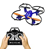 Mini RC Drones with Camera for Kids Adults and Beginners, Remote Control Quadcopter with 3 Speed Mood/Headless modle/One Key Take Off and Landing&Return, Altitude Hold/3D Flips Propeller Blades, Blue