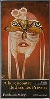 ポスター ジャック プレヴェール Papillon 1987 額装品 アルミ製ベーシックフレーム(ブラック)