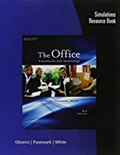 Simulations Resource Book for Oliverio/Pasewark/White's The Office: Procedures and Technology, 6th Paperback May 9, 2012