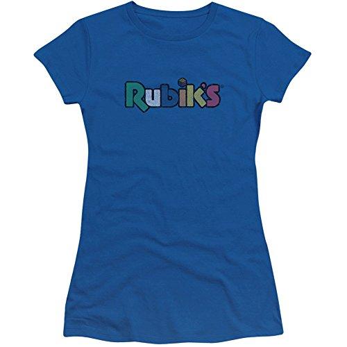 Rubik's Cube Smudge - Camiseta para niño, color azul - Azul - X-Large