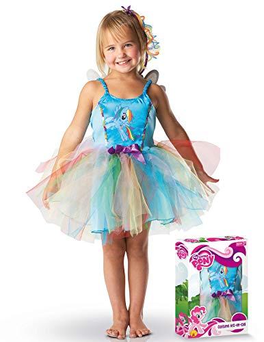 My Little Pony - 154539M - Tuta di ballerina - Arc en ciel - Taglia 5-6 anni