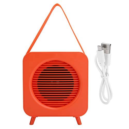 PUSOKEI Altavoz Bluetooth Profesional y Elegante, Altavoz portátil inalámbrico de transmisión rápida para Exteriores con Llamadas Manos Libres, Naranja
