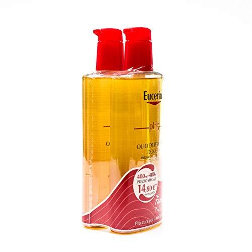 Scopri offerta per Eucerin PH5 Olio Detergente Doccia Family Pack 2X400 ml