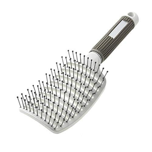 VKTY Ensemble de brosses à cheveux, brosse à cheveux incurvée ventilée pour femme, longues, épaisses, fines, bouclées et emmêlées