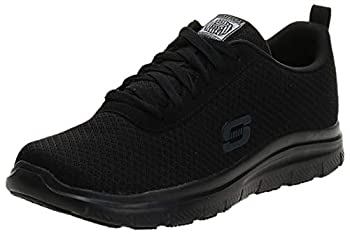 Skechers for Work Men s Flex Advantage Bendon Work Shoe,Black,7 M US
