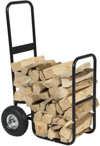 Firewood Cart Log Carrier Fireplace free Hauler Caddy Rack Ranking TOP18 Wood Mover