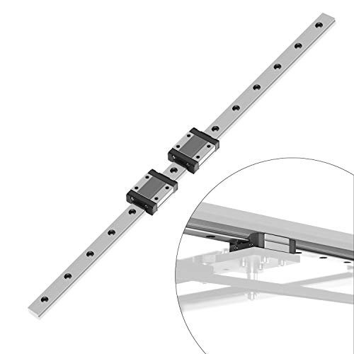 OUYZGIA MGN12H Double Linear Sliding guideway for 3D Printer CNC Machine and DIY Project mgn12 Linear Rail(500mm,H-Type)