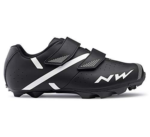 Northwave Spike 2 MTB Fahrrad Schuhe schwarz/weiß 2021: Größe: 44