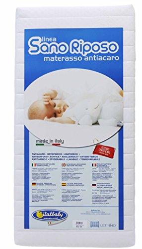 Italbaby sano riposo materasso, 60x 125x 12cm